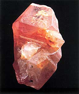 Padparadscha Crystal photo image