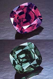 ©1988 Tino Hammid, gem & crystal treasures, Peter Bancroft, alexandrite, russian alexandrite, Tanzania alexandrite, Brazil alexandrite, chrysoberyl, cat's eye