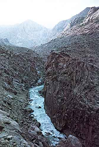 Alingar Canyon near Nuristan, Afghanistan photo image