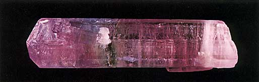 Elbaite Tourmaline Crystal from Laghman, Nuristan, Afghanistan photo image
