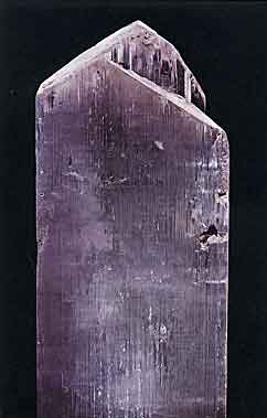Kunzite Crystal from Laghman, Nuristan, Afghanistan photo image