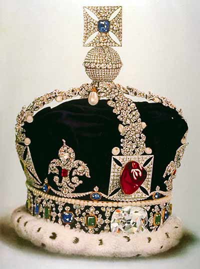 Imperial State Crown of Great Britain photo image
