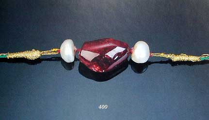 Spinel and Pearl Bazuband photo image