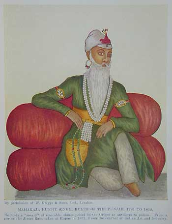 Ranjit Singh illustration
