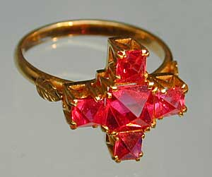 Burmese Spinel Ring photo image