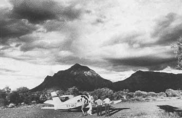 Small Landing Field Near Mt. Kilimanjaro photo image