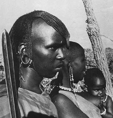 Masai Family photo image