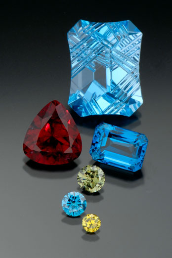 Gemstones Treated by Irradiation photo image