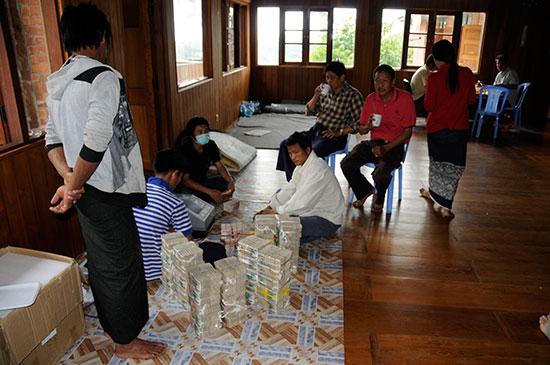 Money Counting photo image