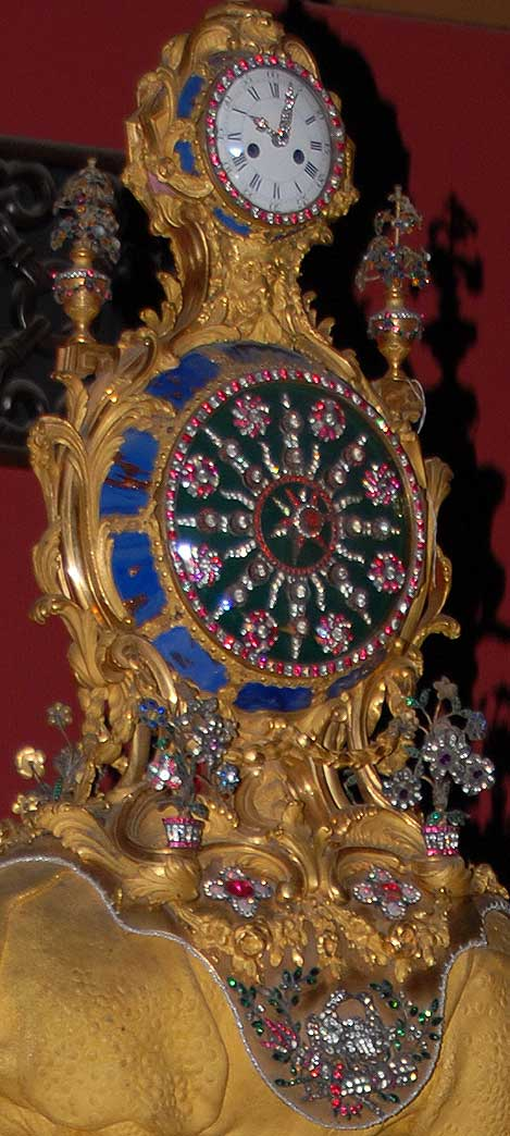 Detail of English Clock photo image