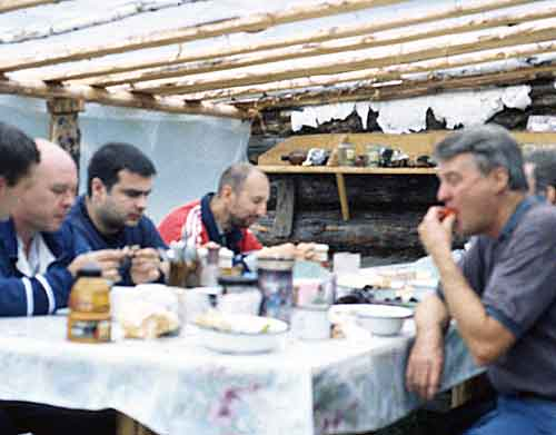 Russian Feast at the Demantoid Mines photo image