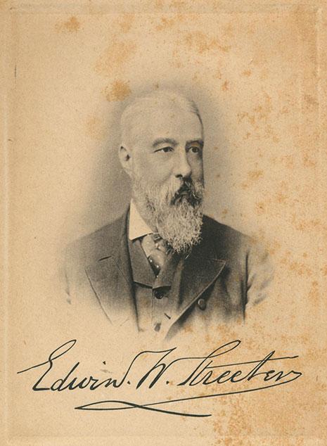 Edwin Streeter portrait image
