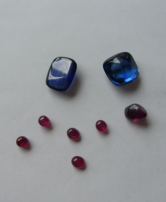 Sapphires and Rubis photo image