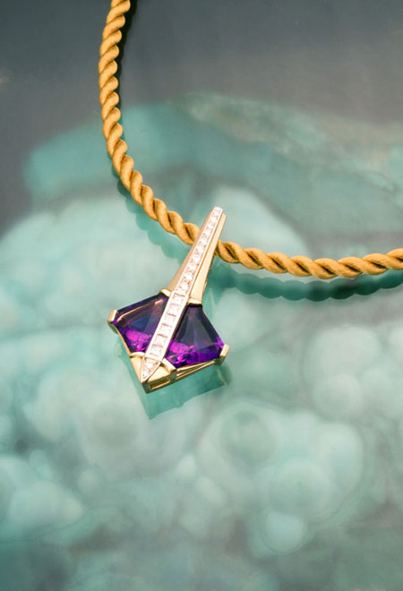 Amethyst Pendant photo image
