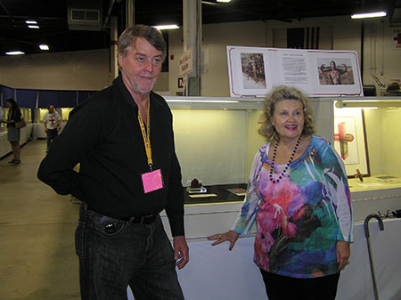 Bill Larson and Irma Vollrath photo image
