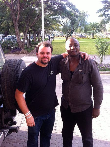Will Larson and Rahim photo image