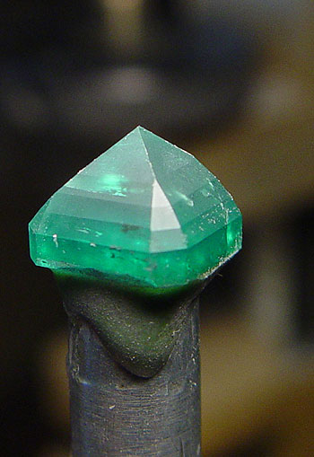 Emerald Faceting photo image