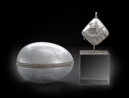 Nobel Ice Egg and Watch photo image