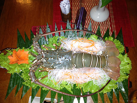 Lobster Sashimi photo image