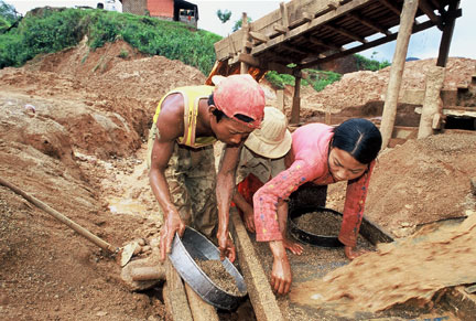Mining in Mogok photo image