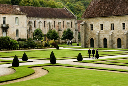 Abbey of Fontenay photo image