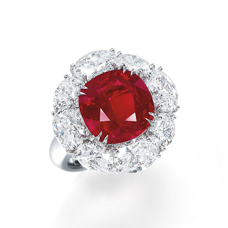 Ruby and Diamond Ring photo image