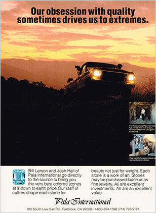 Pala International ad image