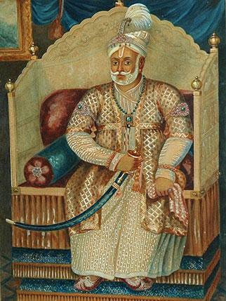 Dharma Raja portrait image