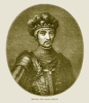 The Black Prince illustration