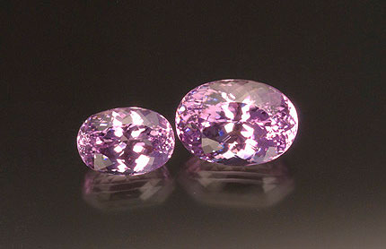 Faceted Kunzite photo image