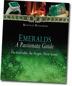 Emeralds, A Passionate Guide book cover image