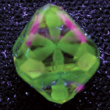 Diamond photomicrograph image