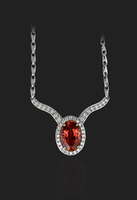 Topaz Necklace photo image