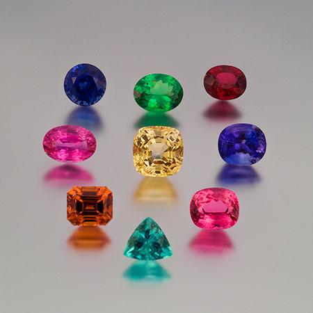 Colored Gemstones photo image