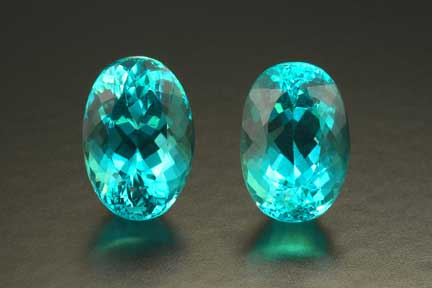 Cuprian Tourmaline Pair photo image