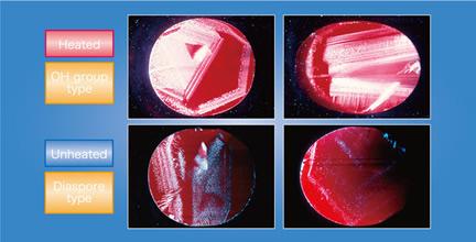 Laser Tomograph of Ruby photo image