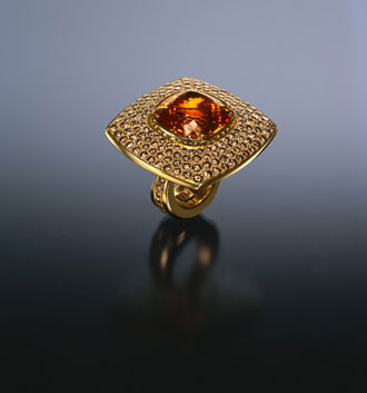 Garnet Ring photo image