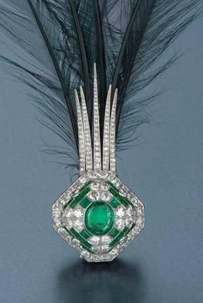 Emerald and Diamond Aigrette photo image