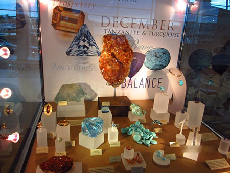 Dcember Birthstones Display photo image