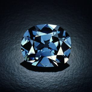 Hope Diamond Photographed by Tino Hammid