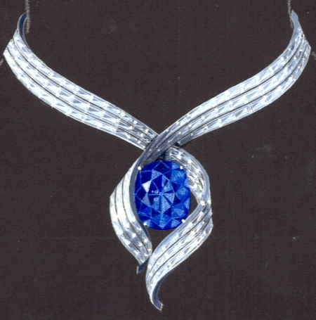 Hope Diamond illustration