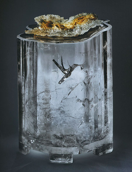 Hummingbird Crystal Carving photo image
