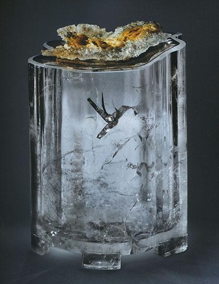 Hummingbird Crystal Carving photo image