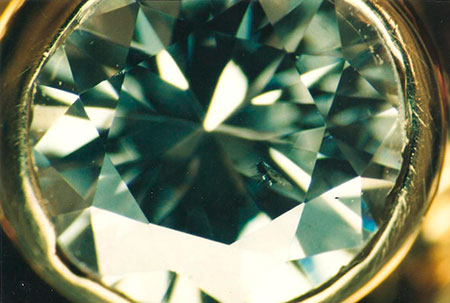 Diamond Inclusion photomicrograph image