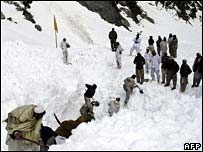 Kohistan Avalanche photo image