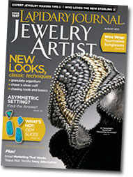 Lapidary Journal Jewelry Artist cover image