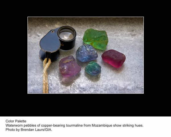Tourmaline Rough photo image