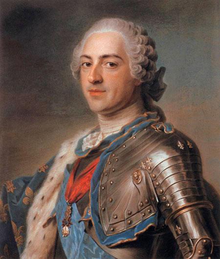 Louis XV pastel image
