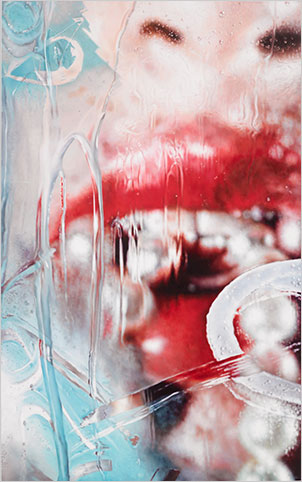 Torrent by Marilyn Minter