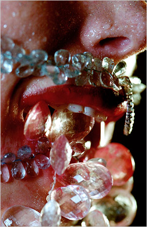 Vampire by Marilyn Minter